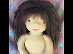 Waldorf doll. From Suri alpaca locks to weft to doll-wig part 3