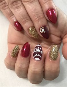 Reds by Bellissimanails from Nail Art Gallery