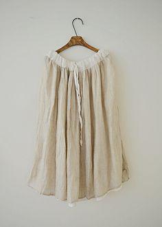 라르니에 정원 LARNIE Vintage&Zakka Chic, Skirts, Natural, Style, Fashion, Dressmaking, Shabby Chic, Swag, Moda