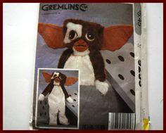 GREMLINS GIZMO Costume Childrens size by VintagePatternsDepot
