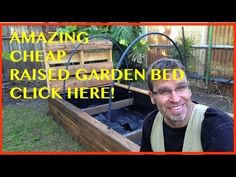 How to Build a Raised Garden Bed. THE ULTIMATE Pallet Wood Vegetable Garden. - YouTube