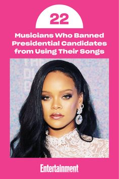 Click To See 22 Famous Singers And Musicians Who Have Banned Their Songs To Be Played By Presidential Candidate Famous Singers Celebrity Entertainment Musician