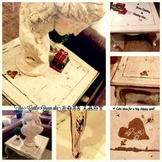 From Shabby to Shabby Chic...find us on Facebook..The CattleQueen aka BossLady
