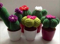 Tutorial Cactus Ganchillo   Crochet Aloe Vera - YouTube