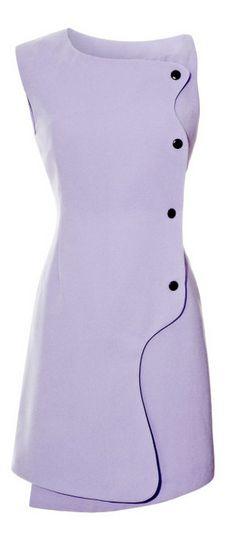 Isla Snap-Front Crepe Dress