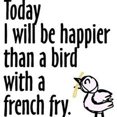 Monday Morning Motivation: Be Happy