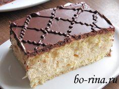супер шоколадные пирожные с пропиткой