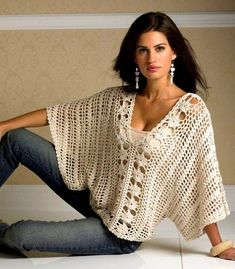 Crochet Top PDF Pattern only - a crochet spring/summer crochet blouse sold by AsDidy on Storenvy - This is just the pattern for this item. It is easy to make and can be done in differnet sizes. The pattern is PDF format For more information - convo me Pull Crochet, Gilet Crochet, Mode Crochet, Crochet Jacket, Crochet Blouse, Crochet Stitches, Knit Crochet, Crochet Patterns, Crochet Tops