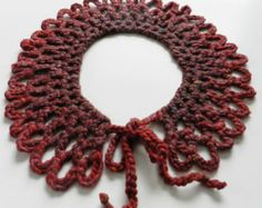 Knit Item - Knitted Collar - Hand Made Knit - Accessories - Winter Collar - Wool Items - Winter Fashion