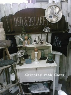 Chipping with Charm: Working Together...our booth