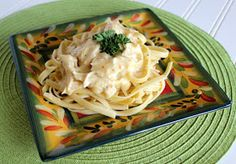 Moodi Foodi: Recipes : Crock Pot Cream Cheese Chicken Spaghetti