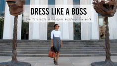 Stylebook Closet App: Dress Like a Boss >>How to Create a 30-Day Capsule Wardrobe for Work