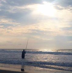Surfside beach south carolina pier sunrise south for Myrtle beach surf fishing