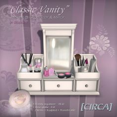 Classic Vanity - Make-Up Organizer & Mirror - In Blossom | Flickr - Photo Sharing!