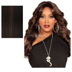 Sat Oct 21, 2017 - #7: Vivica Fox Pure Stretch Cap Braxton - Color FS1B/33 - Synthetic Regular Wig