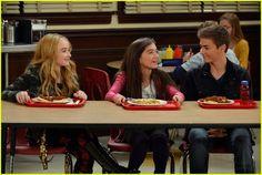 "#GirlMeetsWorld 1x01 ""Girl Meets World"" - Maya, Riley and Lucas"