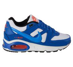 Bijzondere Nike Air Max Command (GS) Sneakers Junior (blauw – wit) Sneakers van het merk Nike voor Kinder . Uitgevoerd in blauw - wit gemaakt van Synthetisch materiaal leer rubber rubber.