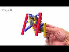 wedobots: Halloween Spider Instructions with LEGO® WeDo™ bricks - YouTube