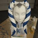 """""""How to make an Ahsoka Tano costume"""" I like how they made the head piece, need to keep in mind if I ever go as her"""