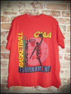 Vintage 90 s CIAA Basketball Tournament Shirt by RackRaidersVintage 5e91e743a