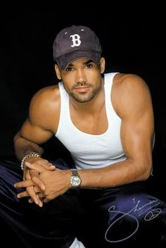"""Shemar Moore (Definitely the """"RANGER"""" in my head in the Stephanie Plum novels - which I'm obsessed with!)"""