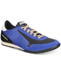 Diesel Men's Claw Action S-Tocla Sneakers - Blue 10.5