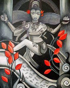 """Artfolio by Indu on Instagram: """"शिव की ज्योति से नूर मिलता है, सबके दिलों को सुरूर मिलता है जो भी जाता है भोले के द्वार, कुछ न कुछ ज़रूर मिलता है !! . . #nataraj…"""""""
