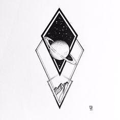 Resultado de imagem para astronomy tattoos
