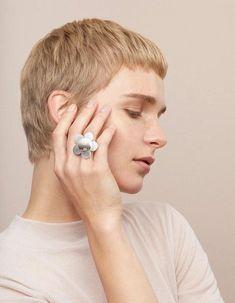 Aarikka Anemonia ring: Anemonia ring 925 Silver, Silver Rings, Silver Jewellery, Jewerly, Designers, Stud Earrings, Engagement Rings, Enagement Rings, Silverware Jewelry