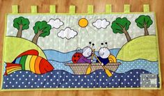 Love Colors by Julianna Rencés Kovács bogyó és babóca falvédő - falikép https://www.facebook.com/LoveColorsByJuliannaRencesKovacs