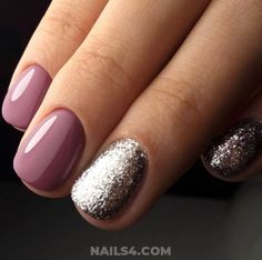 Simple Nail Art Designs That You Can Do Yourself – Your Beautiful Nails Simple Nail Art Designs, Best Nail Art Designs, Toe Nail Designs, Simple Acrylic Nails, Easy Nail Art, Simple Nails, White Nails With Gold, Silver Nails, Dot Nail Art