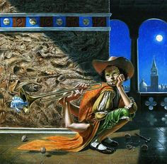 The Tune to a Silence / Surrealist Oil Painter / Michael Cheval / Sürrealist ressam