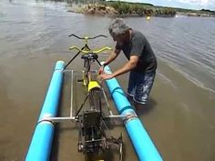 BICI BOAT ACUÁTICA CASERA LA BICICOCHO FABRICACION PROPIA CASTELLI BS AIRES - YouTube Jet Ski, Camping, Duck Boat Blind, Pedal Boat, Power Catamaran, Pvc Projects, Diy Boat, Bass Boat, Pontoon Boat