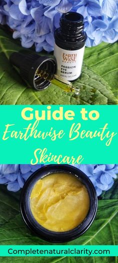 Guide to the plant-based, natural skincare brand Earthwise Beauty! Click to read my review and skincare routine for acne-prone, sensitive, & aging skin! This one-of-a-kind line of products are like nothing else in the green beauty market and produce powerful, skin healing results! #cleanbeauty #earthwisebeauty #naturalskincare #greenbeauty #greenbeautyroutine #acne #antiaging #sensitiveskin