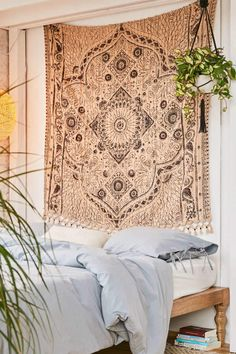Shop Ingrid Textured Tapestry at Urban Outfitters today. We carry all the latest styles, colors and brands for you to choose from right here. Moroccan Decor Living Room, Morrocan Decor, Living Room Decor, Bedroom Decor, Teen Bedroom, Bedroom Ideas, Moroccan Bedroom, Bedroom Inspo, Living Rooms