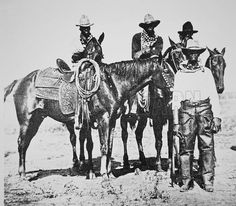 african american cowboys of the old west | Black Cowboys at Bonham - Look and Learn History Picture Library