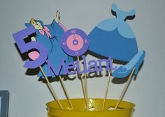 Disney Princess Centerpieces 8 princess your by IDPartyDesigns, $9.00