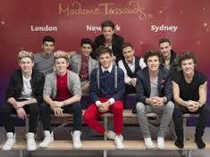 Mes idoles -OneDirection- et leurs statues de cire :3