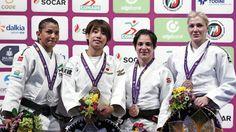 Em último teste antes da Olimpíada, Sarah Menezes fica com a prata