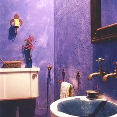 homify Argentina: Colores para baños rústicos. #bañosrusticos