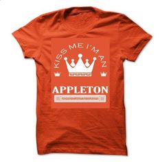 TO2803_1  Kiss Me I Am APPLETON Queen Day 2015 - #crew neck sweatshirts #boys hoodies. ORDER HERE => https://www.sunfrog.com/Automotive/TO2803_1-Kiss-Me-I-Am-APPLETON-Queen-Day-2015-vllpofpdbo.html?60505