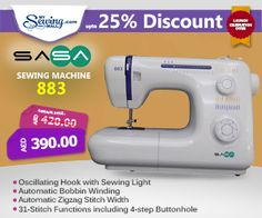 SASA 883 #sewing #machine #online #shopping #discount #sale #MySewingMall