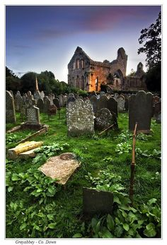 In the wake of St. Patrick Ireland became a hub of Christian sites. One of them being the splendid ruins of a Grey Abbey church in County Down. |Celebrate St. Patrick's Day| Jump Into Ireland|