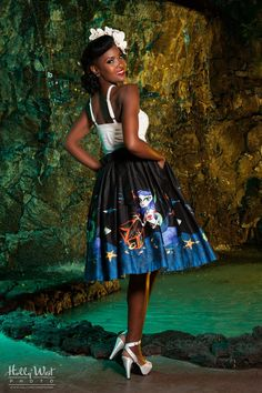 Mermaid Mexican Circle Skirt