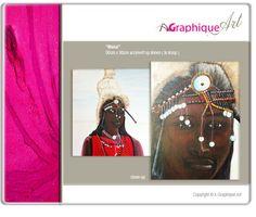 Masai - Dutch art