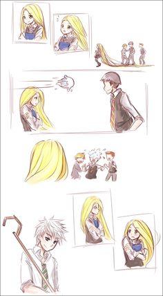 Disney - Jack and Rapunzel - Harry Potter