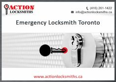 HELP! I need an emergency locksmith in toronto! Well guess what? We're open 24/7. No need to panic, we'll have someone there as soon as possible. Emergencies don't come with warnings, we're here at all times of the day.