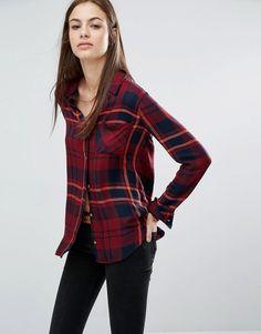 Image 1 - Abercrombie & Fitch - Chemise à carreaux décontractée