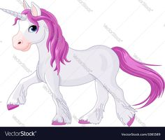 Quietly going unicorn Vector Image by Dazdraperma