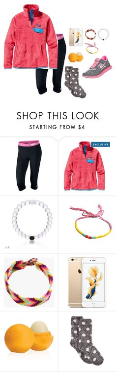 """""""Love this Patagonia"""" by apemb ❤ liked on Polyvore featuring NIKE, Patagonia, Jewel Rocks, Eos and Charter Club"""